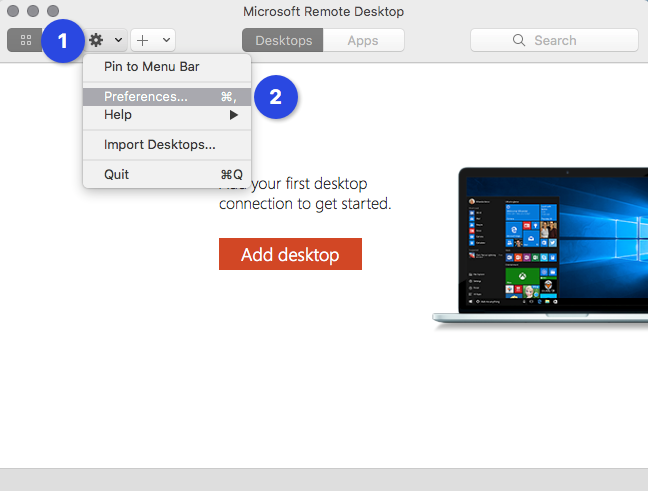 Setting Up Access From Mac OS X